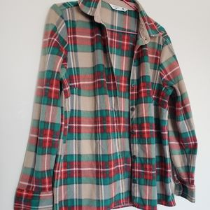 Rider's Lee button down plaided shirt S